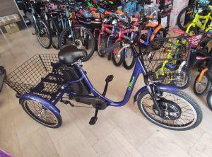 τρίκυκλο ηλεκτρικό ποδήλατο